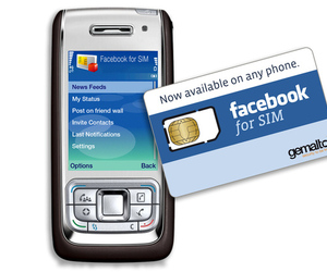 Facebook for SIM