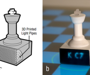 3D printed optics (Disney Research)