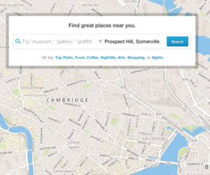 Foursquare local search
