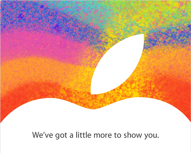 Apple iPad Mini invite