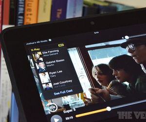 Amazon Kindle Fire HD X-Ray for movies