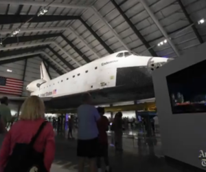 Space Shuttle Endeavor (LA TIMES)
