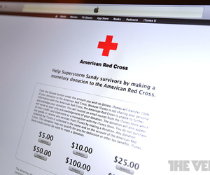 American Red Cross iTunes Hurricane Sandy