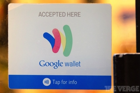 Google Wallet stock