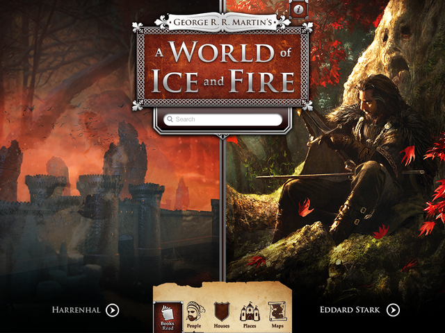 Screens Zimmer 7 angezeig: game of thrones ios
