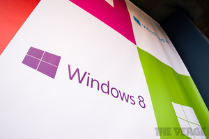 Windows 8 logo stock