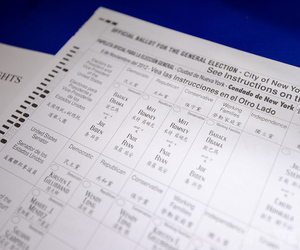 2012 US election ballot Obama Romney (STOCK)