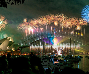Sydney fireworks