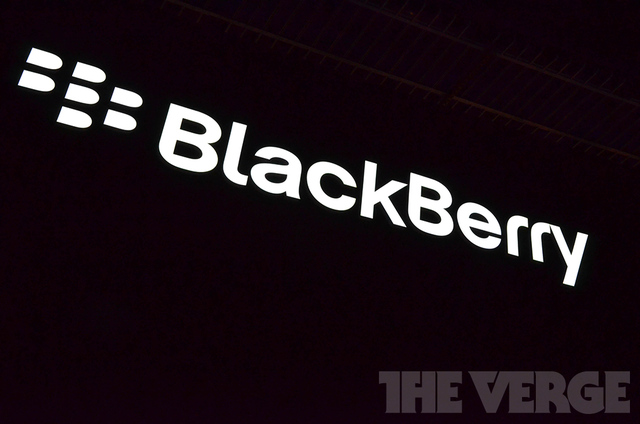 BlackBerry logo CES stock (1020)