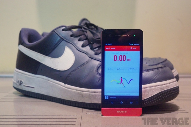 nike+ android air force ones