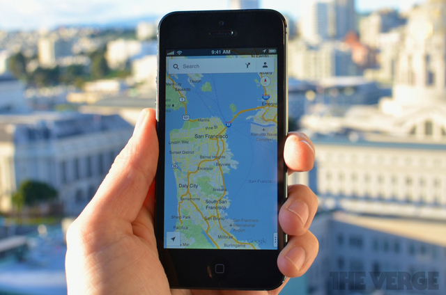 Google Maps for iPhone 2040
