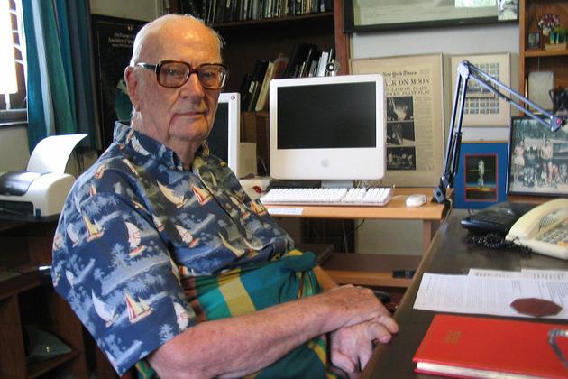 Arthur C. Clarke (mamyjomarash)