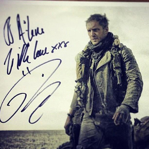 Tom Hardy as Mad Max in Fury Road