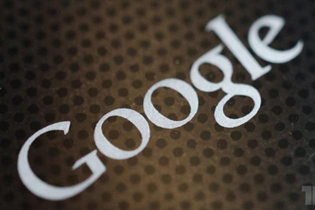 Google logo stock
