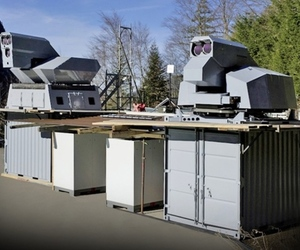 Rheinmetall 50kW laser demonstrator