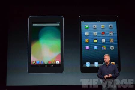 iPad mini vs. Nexus 7