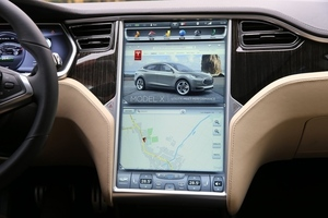 Tesla Google Maps