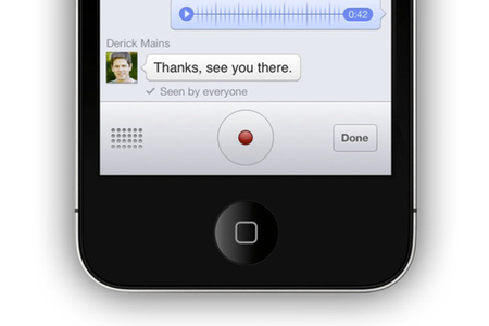 facebook messenger push to talk