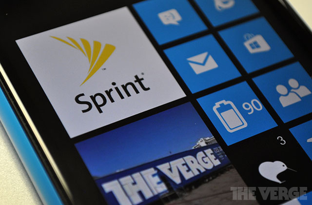 Sprint Windows Phone stock