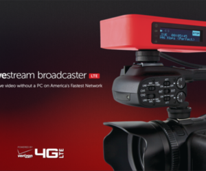 Livestream Broadcaster LTE