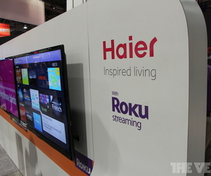 Gallery Photo: Roku Streaming Stick paired with Haier TVs hands-on gallery