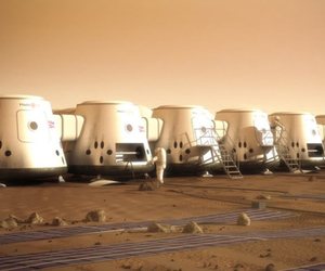 Mars One settlement