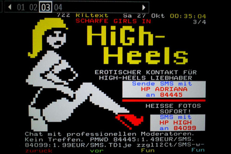 teletext sex line advertisements