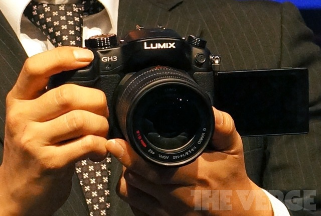 Panasonic GH3 stock