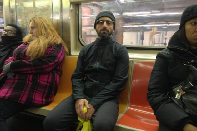 sergey brin subway (twitter)
