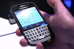 BlackBerry Q10 hands-on still