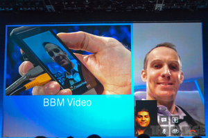 BlackBerry 10 BBM Video Chat (STOCK)
