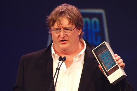 Gabe Newell FLICKR