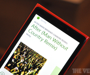 Spotify Windows Phone 8 stock