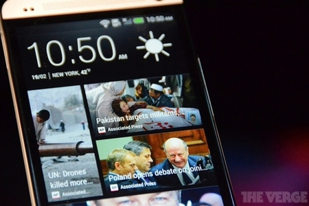 Gallery Photo: HTC One hands-on photos