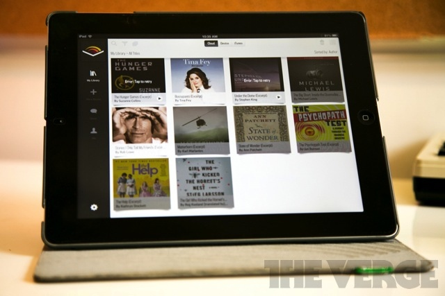 Audible iPad app stock 640
