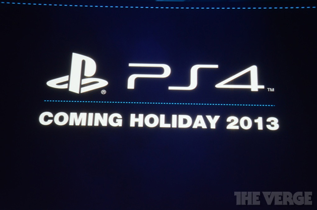 PS4 Holiday 2013