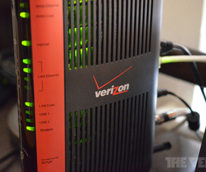 Verizon FiOS router logo