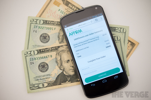 Affirm mobile payment (STOCK)