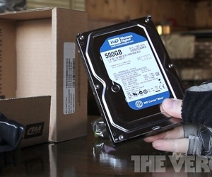 WD hard drive 500GB stock 640