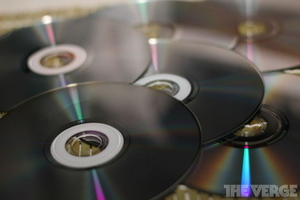 optical disc dvd cd pile stock 1024