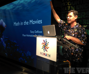 Tony Rose - Pixar at MOMATH