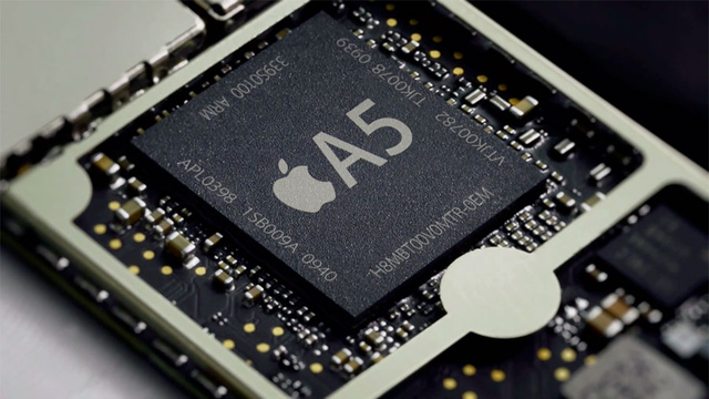Apple A5 iPad 2 processor large verge medium landscape Latest Apple TV has a die shrunk A5 chip, not an A5X after all