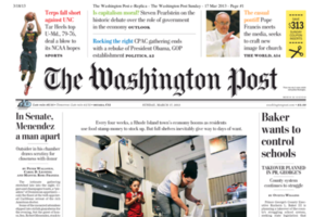 Washington Post Cover