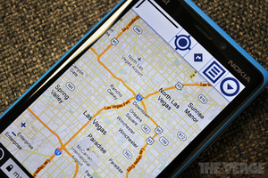 Google Maps on Windows Phone