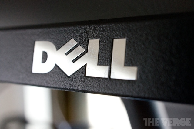 dell logo stock