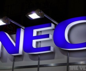 nec logo stock