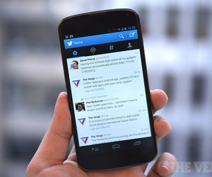 Twitter Android 4.0 App Update