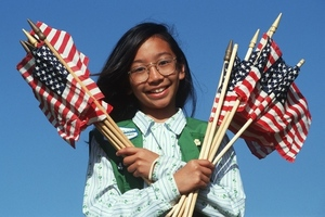 girl scout ( spirit of america / Shutterstock.com)