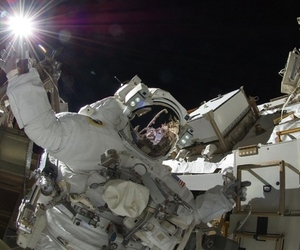 NASA space walk image