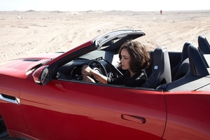 Jaguar F-Type movie Desire with Shannyn Sossamon